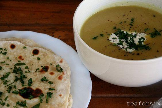 Spiced Cauliflower Soup