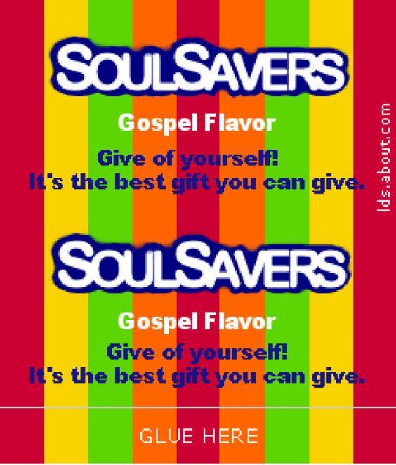 LDS Clipart Soul Savers LDS Church Handout
