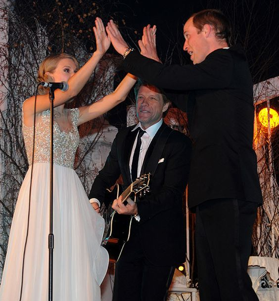 With Taylor Swift and Bon Jovi
