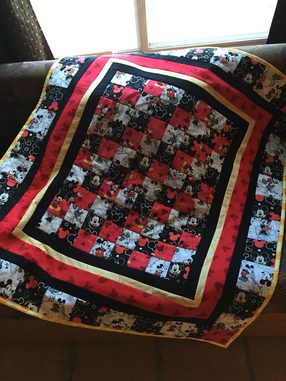 Mickey Mouse Quilt that was sold