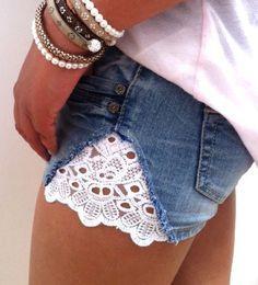 Uma forma linda de usar o jeans muito apertado!