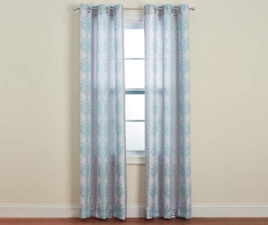 Gray Cayman Darcy Curtain Panel Pair 84 Panel Curtains Curtains Curtain Rod Hardware