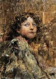 Antonio Mancini, 1852-1930,Italia.