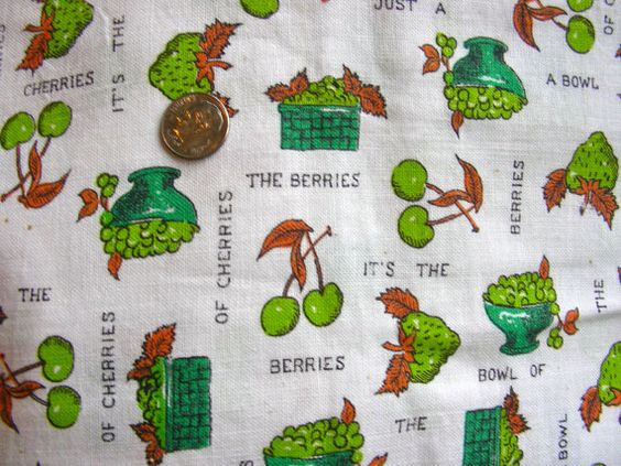 Vintage Full Feed Sack Cotton Fabric  STILLaSack  Life by anne8865