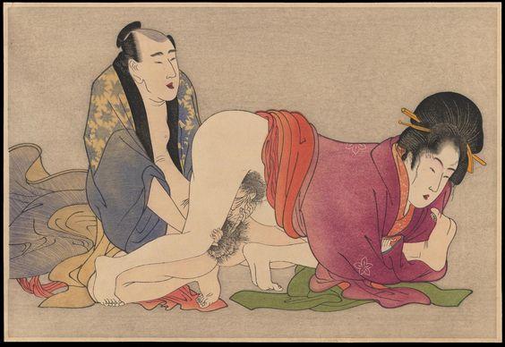 Japan Shunga Art 春画