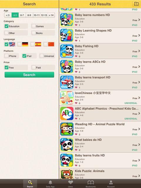 We want AppS, para encontrar AppS, excelente