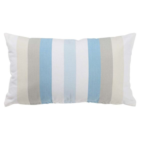 Ob für Deine Lounge-Ecke oder für Dein Sofa - mit diesem Kissen wird es maritim.