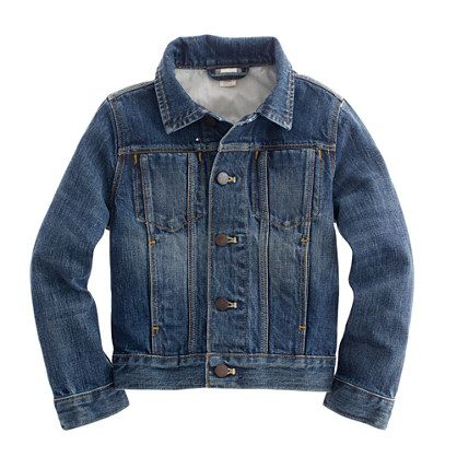 Boys' denim jacket | Jackets, Denim jackets and Music lovers