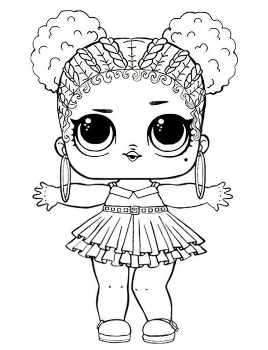 Purple Queen Lol Doll Coloring Pages Doll Doll Dibujos Unicorn Coloring Pages Bird Coloring Pages Animal Coloring Pages