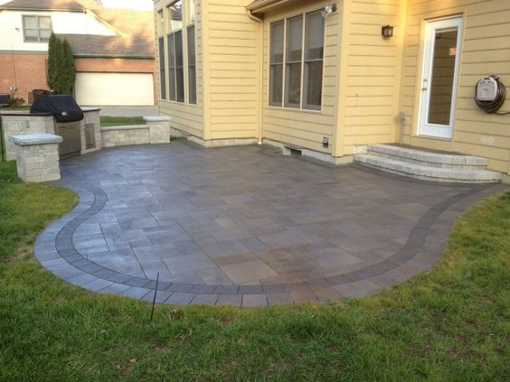 We Installed This Paver Patio In Montgomery OH It 39 S