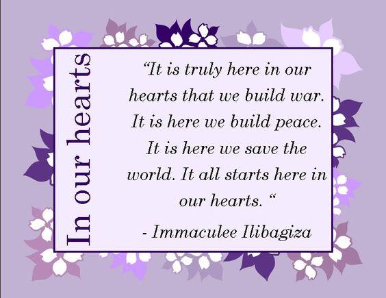 Immaculee Ilibagiza, Rwandan genocide survivor  #genocide #christian