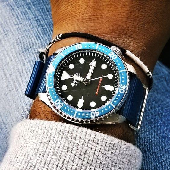 #seiko #skx007 #divers200 #diver #diverwatch #seikoaddict #seikomaniac…