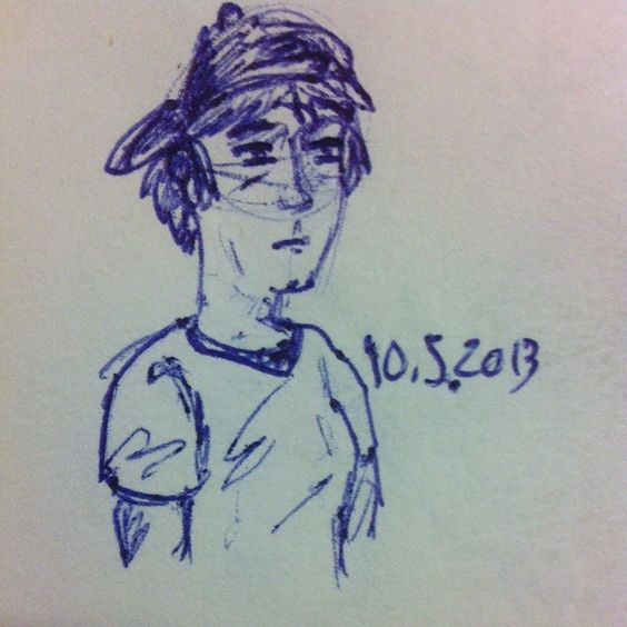 #doodle #drawing #boy