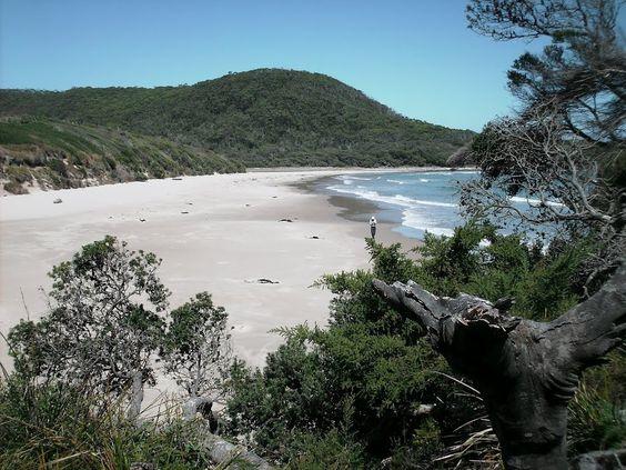 Spero Bay Beach, Tasmania, Australia