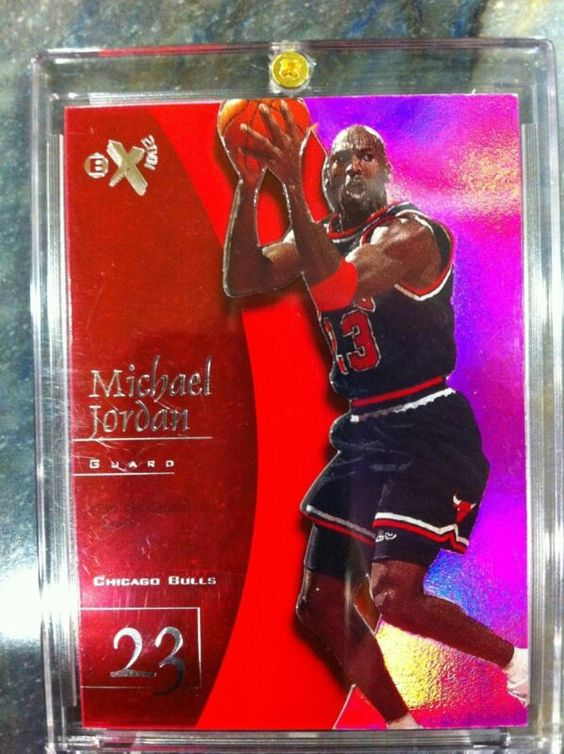 97 98 Essential Credentials Michael Jordan # out of 72. I remember when these cards came out they were over 5 bucks a pack and that was absurd at the time. Never wouldve dreamed high end product would cost so much now
