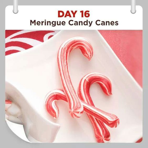 Meringue canes and candy canes on pinterest