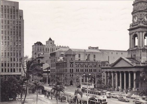 Intersection of Gardiner and West Street, Durban