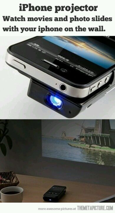 Cool projector
