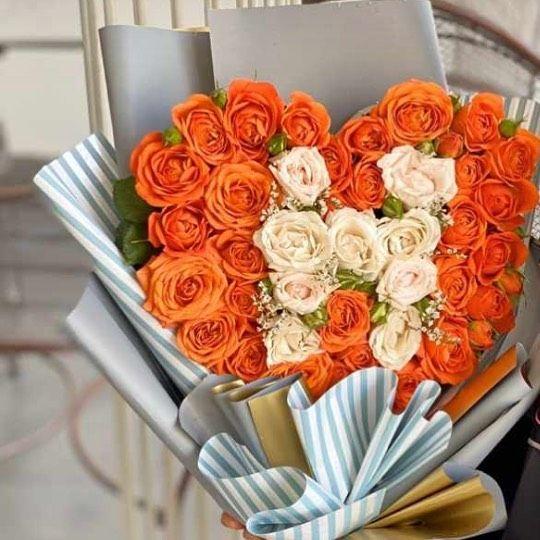 ورد بوكيه جده بوكيهات بنات جده هديه هدايا Gift Flower Rose Photo Flowers