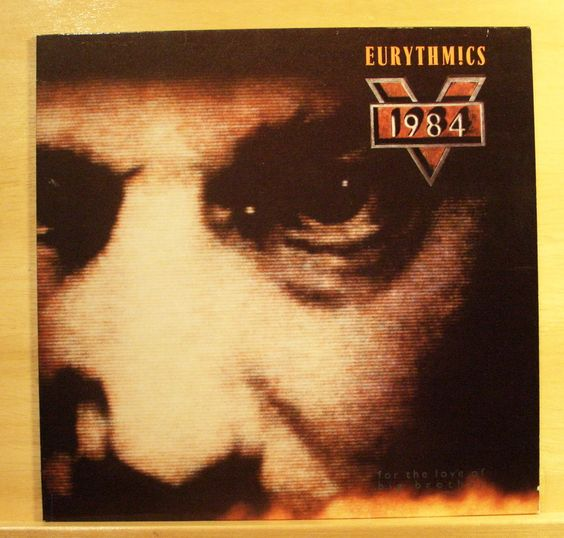 EURYTHMICS - 1984 - Vinyl LP - Sexcrime-Ministry of Love -I did it just the same