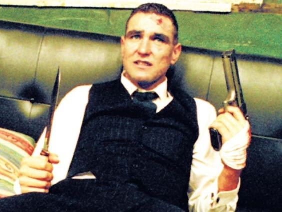"Still of Vinnie Jones in ""Snatch."" (2000) fantastic film"