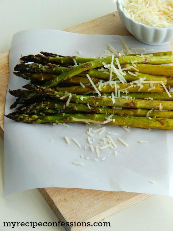 Roasted Parmesan and Balsamic Aaparagus Spears Recipe