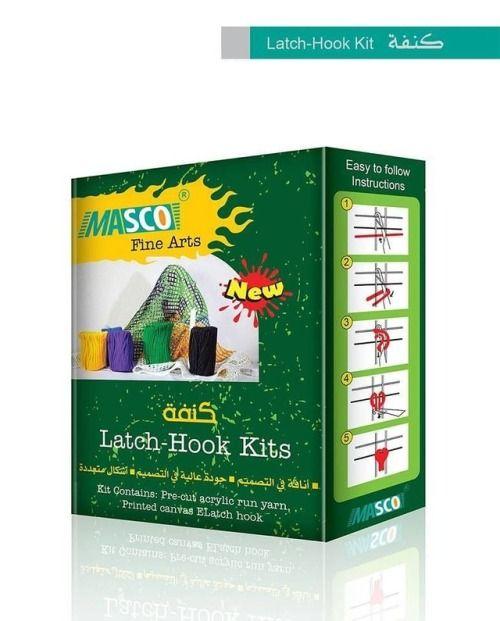 Latch Hook Kits كنفة Latches Latch Hook Prints