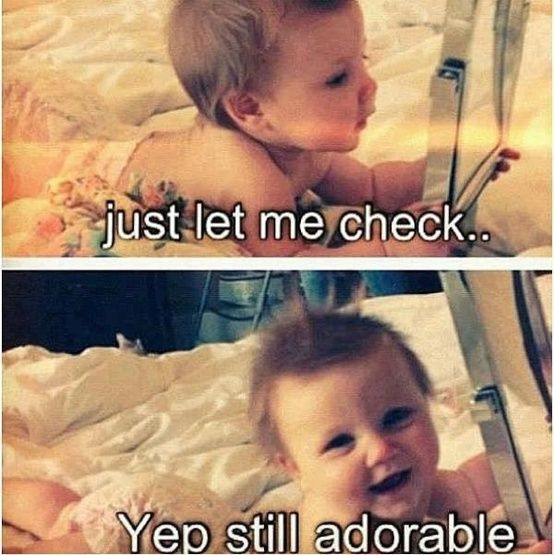 Still adorable: Funny Things, Funny Pictures, Adorable Babies, Funny Quotes, Funny Stuff, Adorable Baby, Baby S, Awwwww Lux