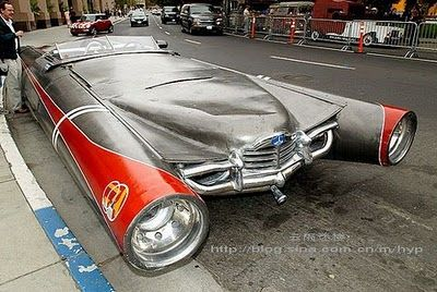 VERY FUNNY: Top 5 of the world most strange cars