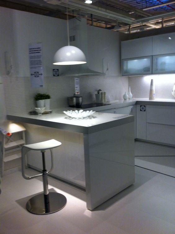 Metod Ringhult - hooglanzend wit - keuken 6 Ikea Gent Vind ie wel ...