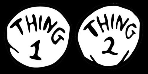 Thing 1 Thing 2 Png On We Heart It We Heart It Thing 1 Thing 2 Thing 1