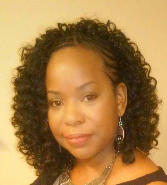 Crochet Hair Styles Instagram : FreeTress Water Wave Hair styled by Ms Pks Crochet Braids in Mcdonough ...