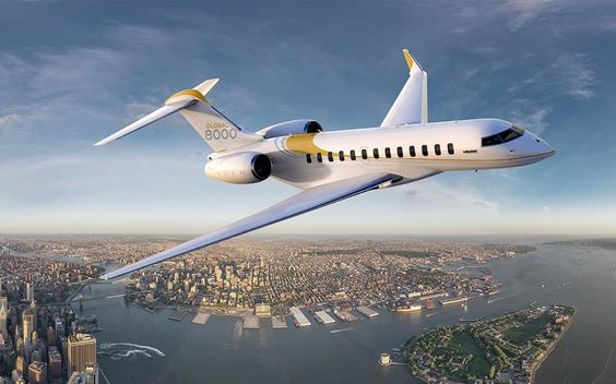 Bombardier Global 8000 – 71 Millions Euros   businessaircraft.bombardier.com: