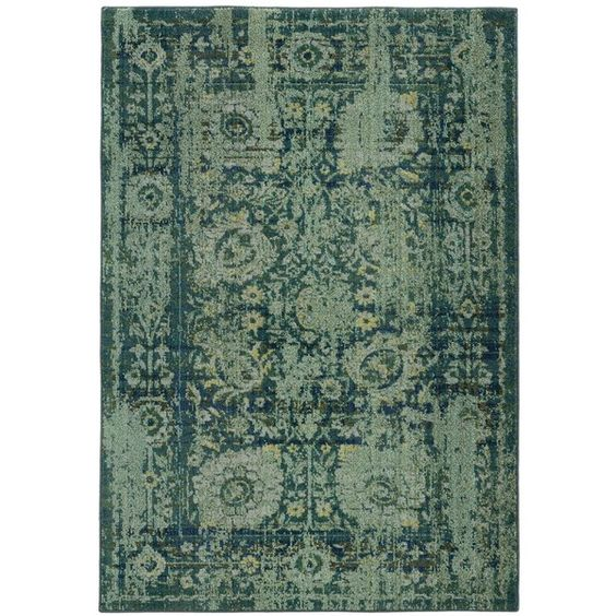 """Pantone Universe Expressions 3333G 4' x 5'9"""" Area Rug (¥28,135) ❤ liked on Polyvore featuring home, rugs, paisley rug, pantone universe, paisley area rug and textured rugs"""