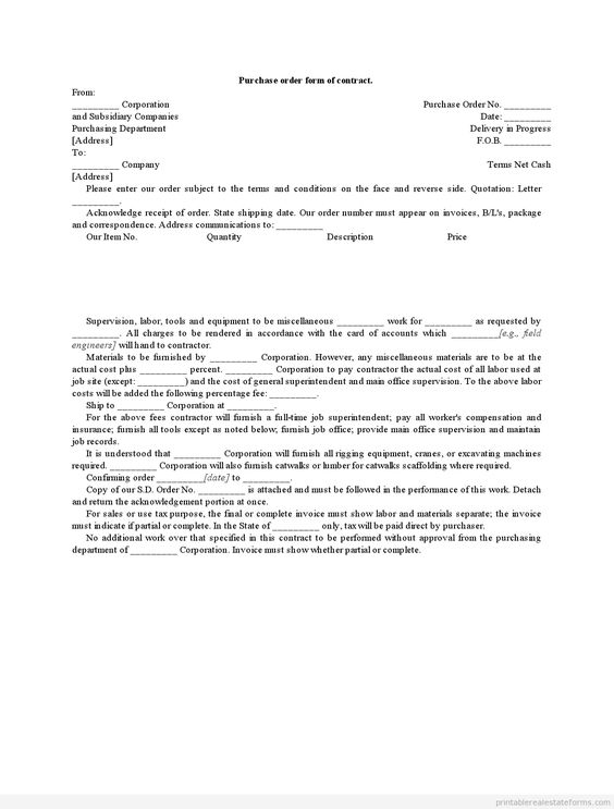 Printable contract sale of condominium template 2015 Sample - purchase order contract template