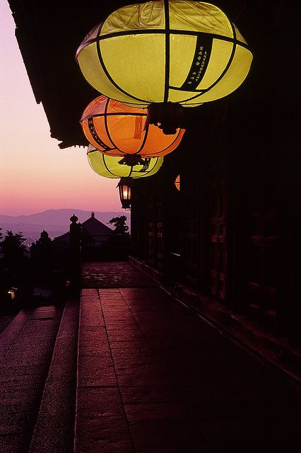 Lanterns at Todai-ji temple, Nara, Japan  ----------- #japan #japanese: