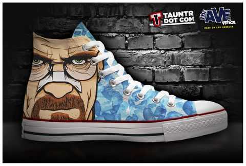 """Dexter,"" ""Breaking Bad"" and ""Walking Dead"" Shoes"