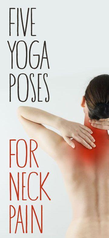 Die besten Yoga-Übungen gegen Nackenschmerzen.