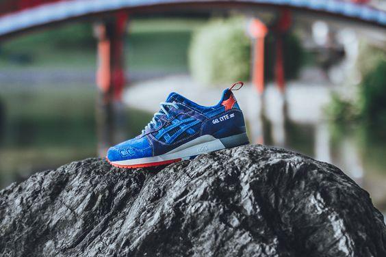 "mita sneakers x ASICS Gel Lyte III ""25th Anniversary"""