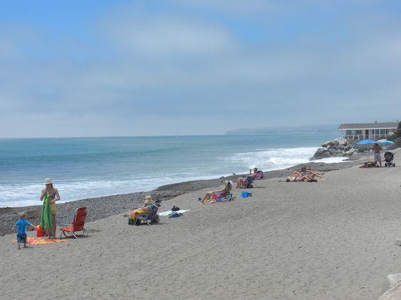 Beautiful North Beach in San Clemente California
