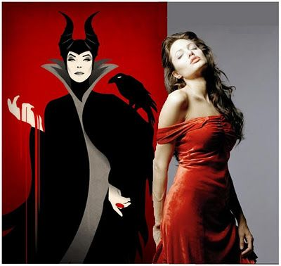 The film Maleficient, starring Angelina Jolie, will be the story of Sleeping Beauty from the perspective of the villainess' eyes, and will be premiered in 2013.    ...WHAAAAT???? :D