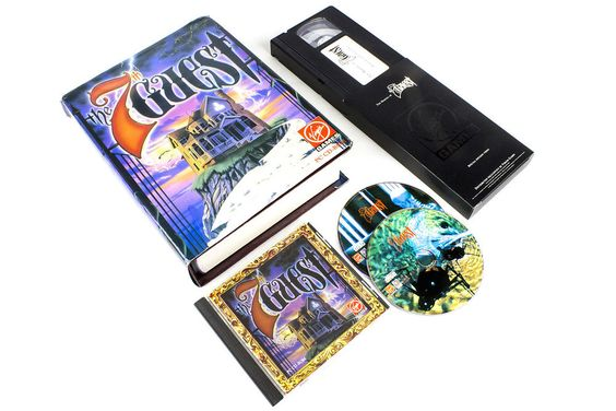 7th Guest Special Edition for PC by Trilobyte, 1993, Horror, Puzzle-Solving