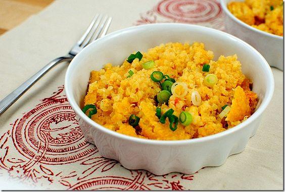 Healthy Mac N Cheese...using Quinoa