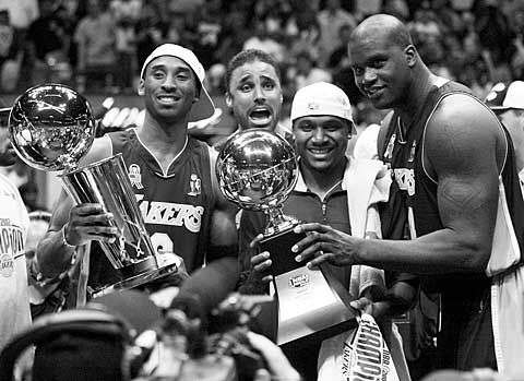 Memorable sports moment of the week – The Los Angeles Lakers win the 2000 NBA Finals