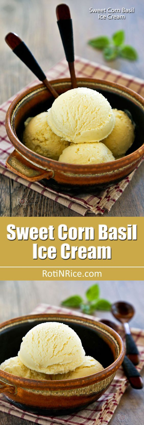 ... sweet corn sweet the o jays ice spicy basil ice cream cream basil