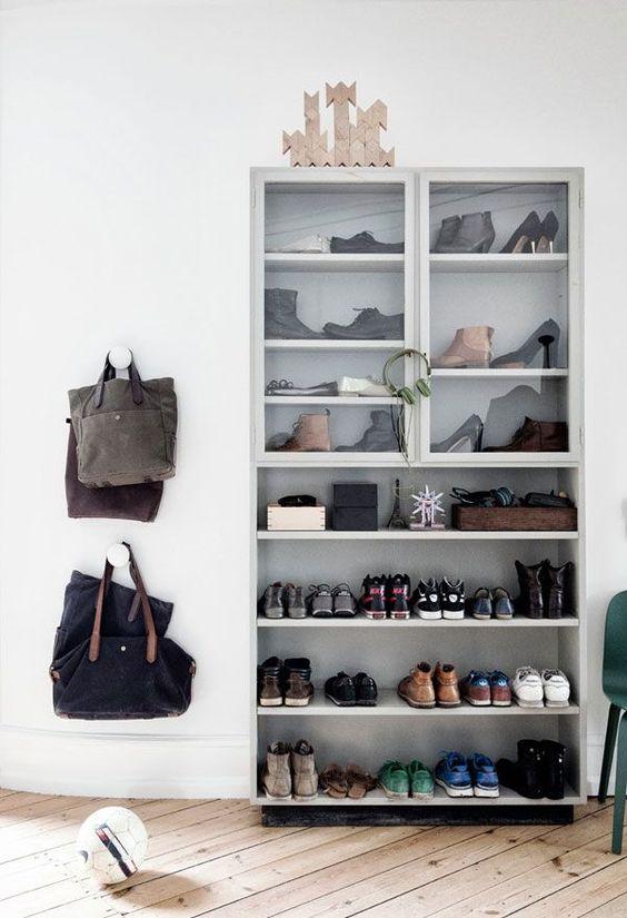 Entryway shoe storage. | apartment34.com: Decor Ideas, Shoes Photo, Shoe Closet, Shoe Storage, Storage Ideas, She Decoration, Shoe Cabinet