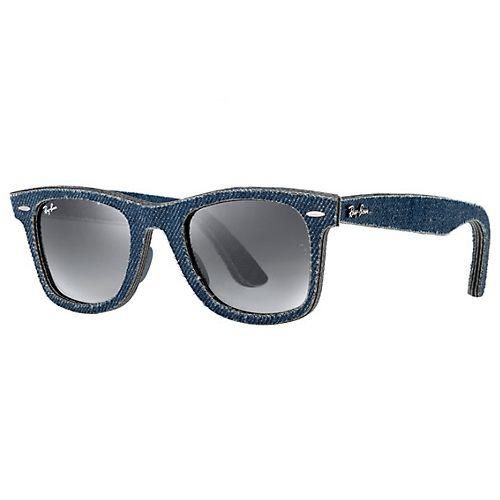 Ray Ban modelo RB2140 armação em acetato jeans e lente não polarizada cinza Tamanho 50 #Compras #DutyFree #RayBan