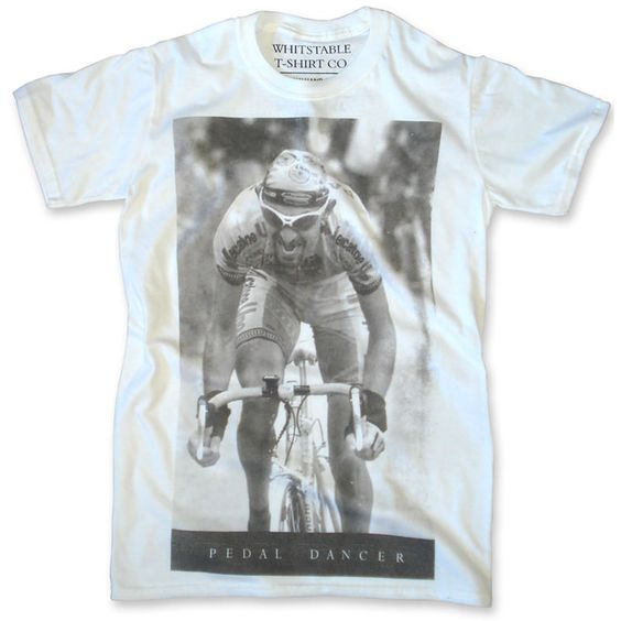 A man who lit up the 1998 Giro - Whitstable Pedal Dancer Bamboo Crew T-Shirt