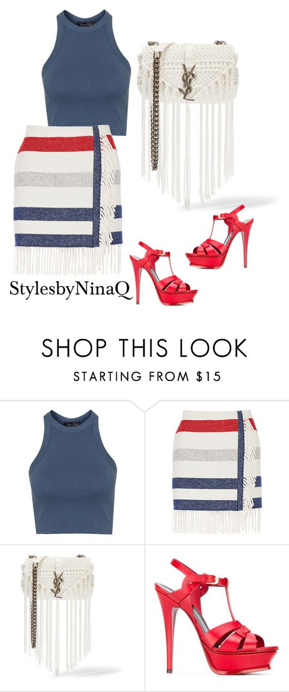 """⚓️"" by nina-quaranta ❤ liked on Polyvore featuring Topshop, Paul & Joe, Yves Saint Laurent, women's clothing, women's fashion, women, female, woman, misses and juniors"