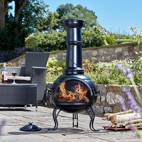 Garden Chimenea Wood Burner Fire Pit